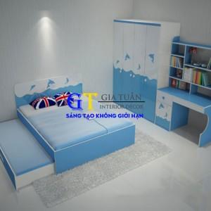 Gường Ngủ Trẻ Em-GT26