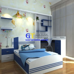 Giường Ngủ Trẻ Em-GT9
