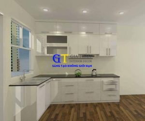 Tủ Bếp Acrylic Gt42