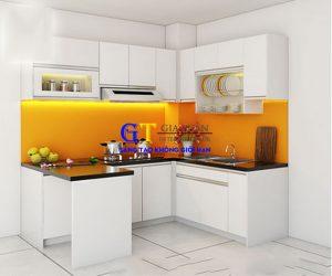 Tủ Bếp Gỗ Nhựa Picomaf Cao Cấp - GT55