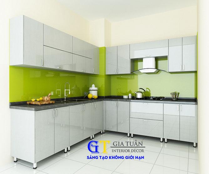 Tủ bếp acrylic GT58