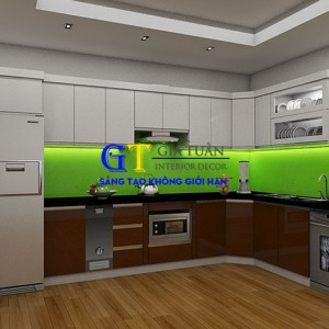 Tủ Bếp Acrylic GT58-A