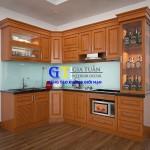 Tủ Bếp – Gỗ Xoan Đào GT69A Đồ Gỗ Nội Thất Đẹp.