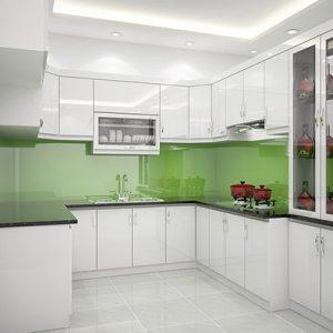 Tủ Bếp Đẹp Gỗ Tự Nhiên-Gỗ Công Nghiệp