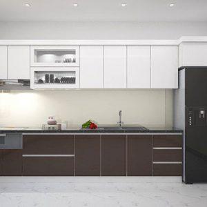 Tủ Bếp Acrylic GT206