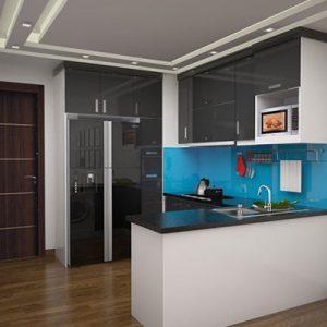 Tủ Bếp Acrylic GT138