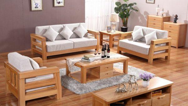 Sofa Kiểu Cách Gỗ Sồi Nga GT67