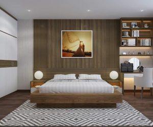 Phòng Ngủ Gỗ Công Nghiệp 2