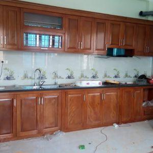 Tủ Bếp Gỗ Xoan Đào-Tủ Bếp Đẹp